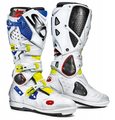 Sidi Crossfire 2 SRS Yelllow Fluo/White/Blue
