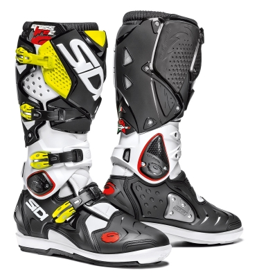 Sidi Crossfire 2 SRS White/Black/Yelllow Fluo