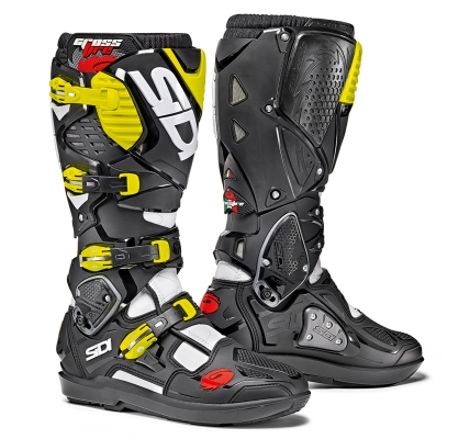 Sidi Crossfire 3 SRS White/Black/YellowFluo