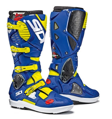 Sidi Crossfire 3 SRS YellowFluo/Blue