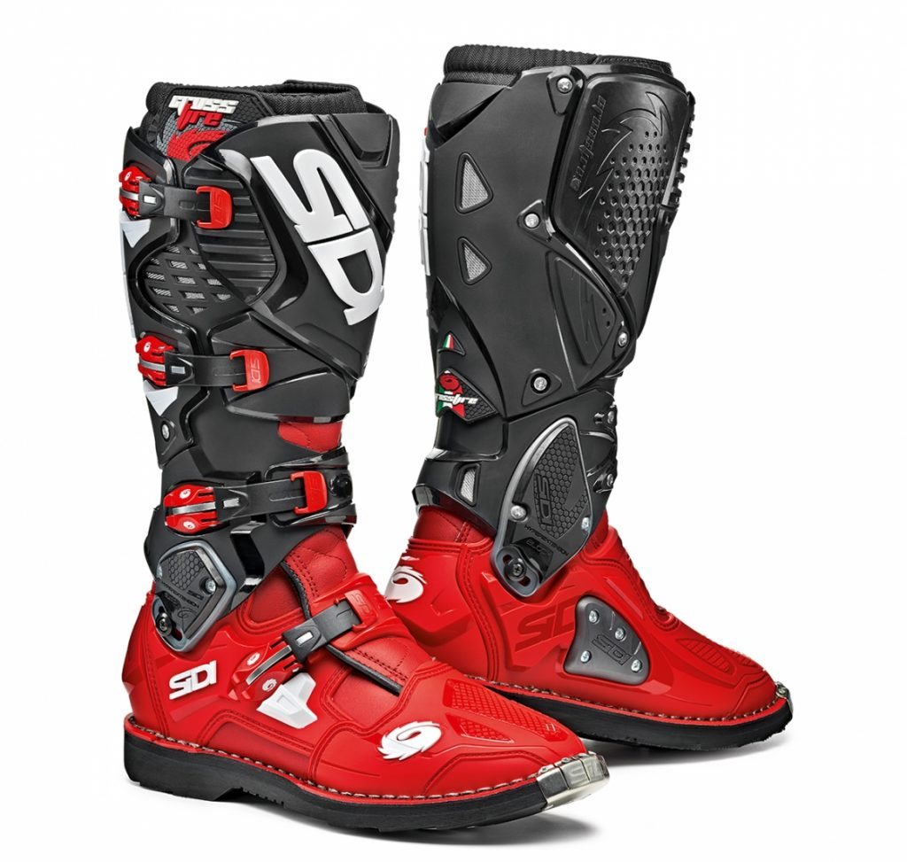 Sidi Crossfire 3 Red/Red/Black