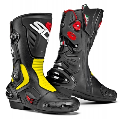 Sidi Vertigo 2 Black/Yellow Fluo