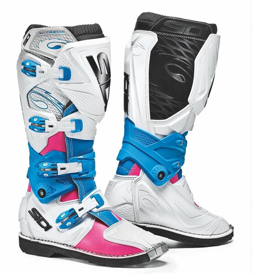 Sidi X-3 Lei Pink/White/Light Blue