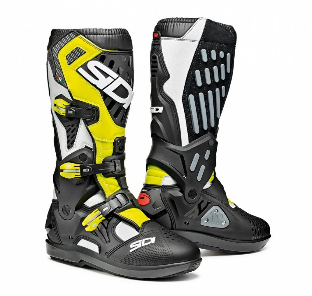 Sidi Atojo SRS White/Black/Yellow Fluo