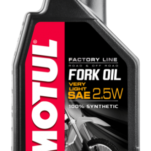 Fork Oil SAE 2.5W 100% Synthetic 1L