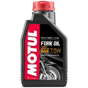 Fork Oil SAE 7.5W 100% Synthetic 1L