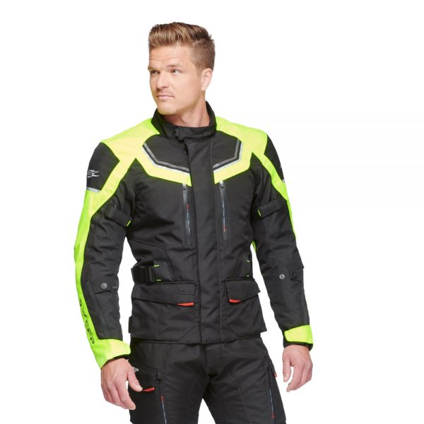 SWEEP CHALLENGER EVO 2 WP JACKET, BLACK/YELLOW