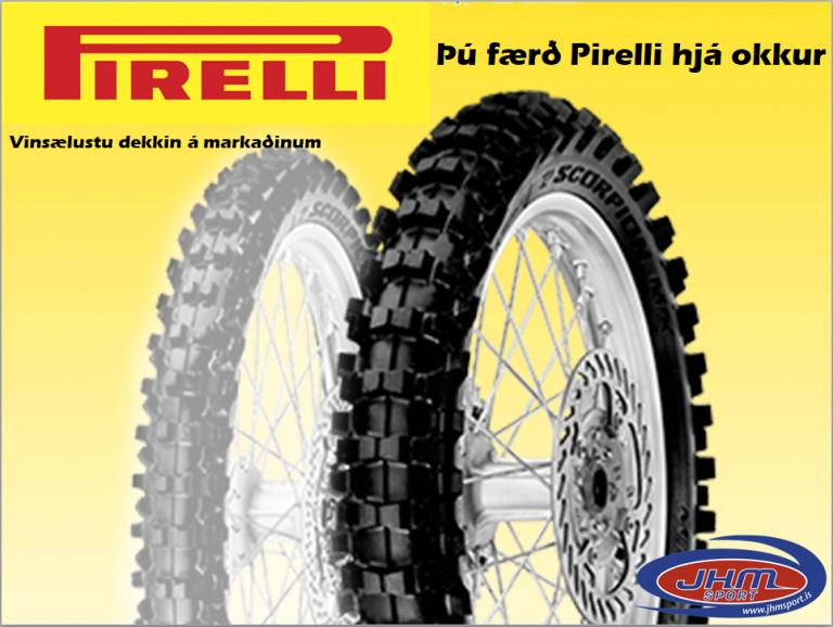 Pirelli kross dekk